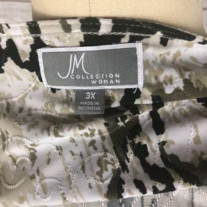 JM Collection Tops - 🌸 JM Collection Woman Brown & Black Top